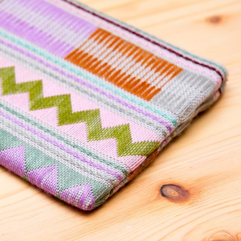 A Bu-Ali(アブアリ)カレン族刺繍クッションポーチ