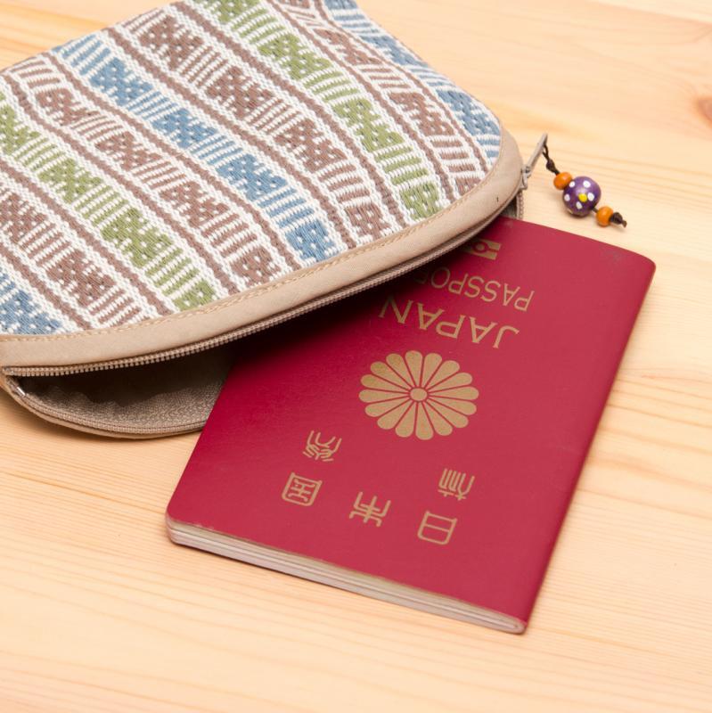 画像3:A Bu-Ari(アブアリ)カレン族刺繍コスメポーチ Type.3