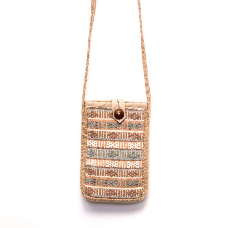 画像4:A Bu-Ari(アブアリ)カレン族刺繍スマホポーチ