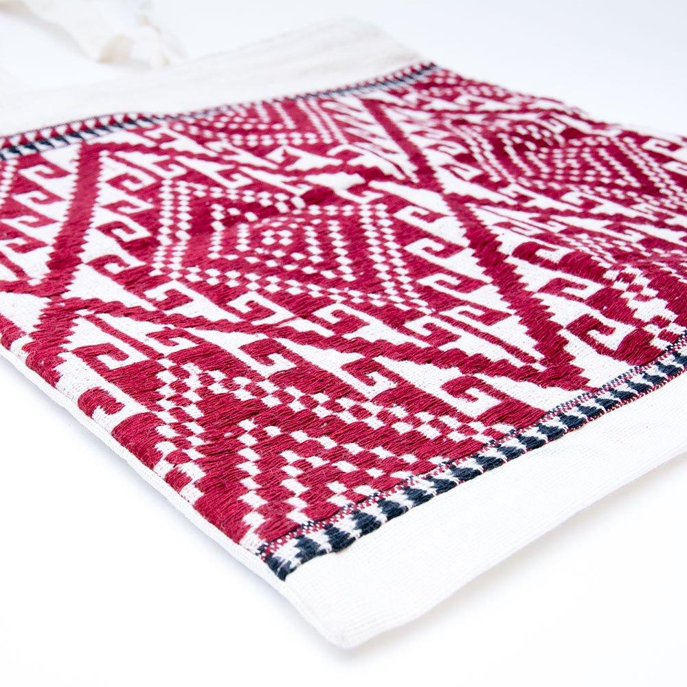 画像3:ラオ族刺繍 トートバッグ (ファスナータイプ)
