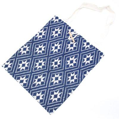 ラオ族手織り布のトートバッグ Type.1