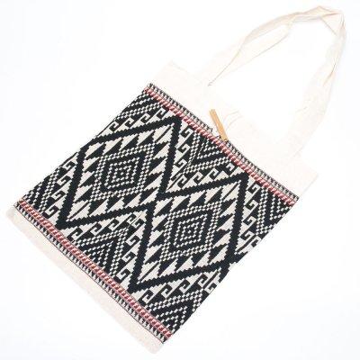 ラオ族手織り布のトートバッグ Type.5
