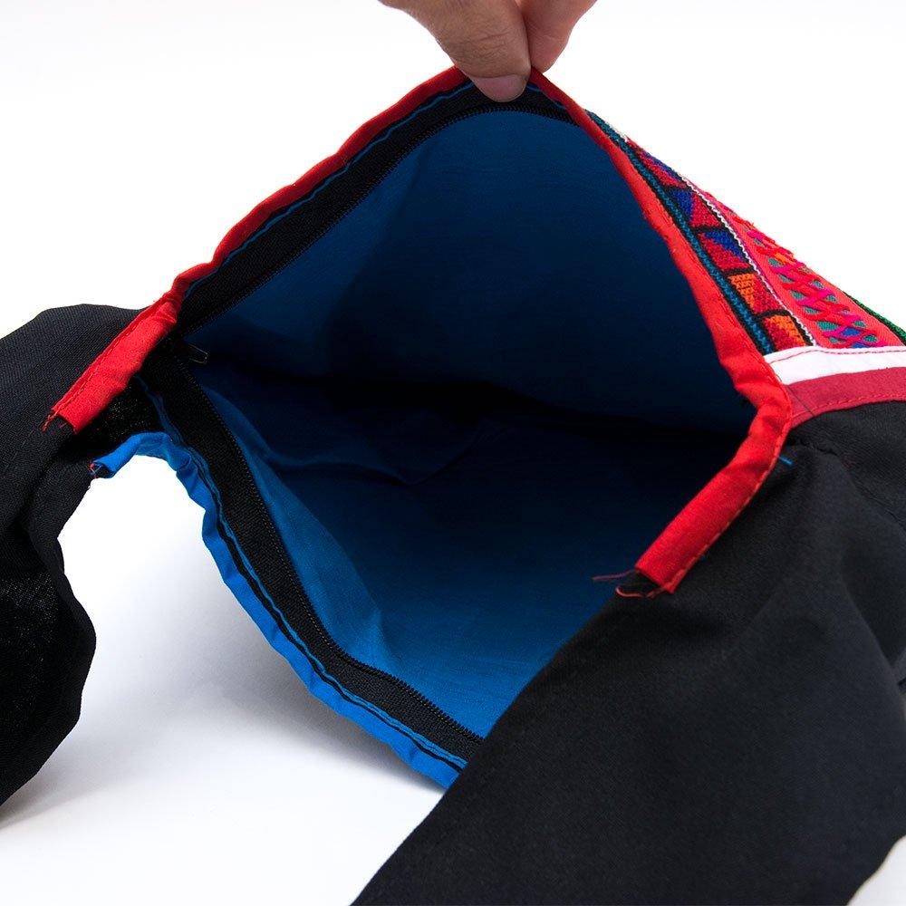 画像2:アカ族刺繍のシャンバッグ