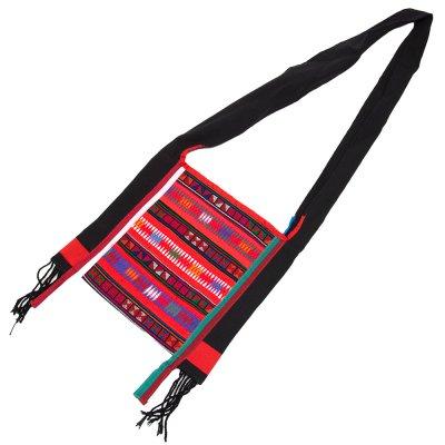 アカ族刺繍のシャンバッグ
