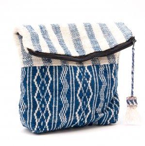 ルー族 手織りの深底ポーチ(オムツポーチ)