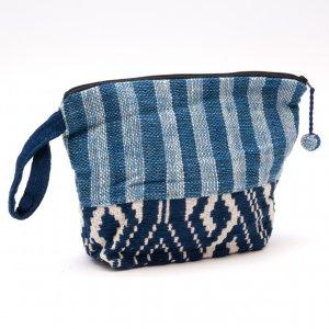 ルー族 手織りのコスメポーチ(マチ付)Type.2
