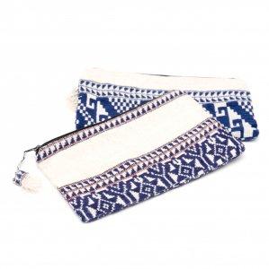 ラオス ルー族手織りの長方形ポーチ Type.1