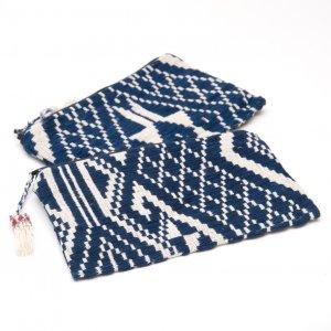 ラオス ルー族手織りの長方形ポーチ Type.2