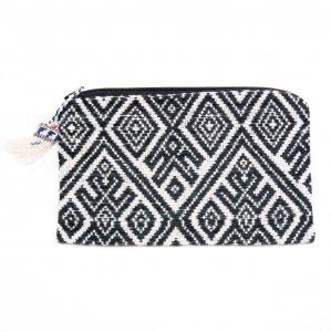 ラオス ルー族手織りの長方形ポーチ Type.3