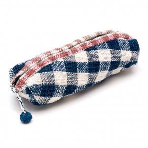 ラオス ルー族手織りのペンケース