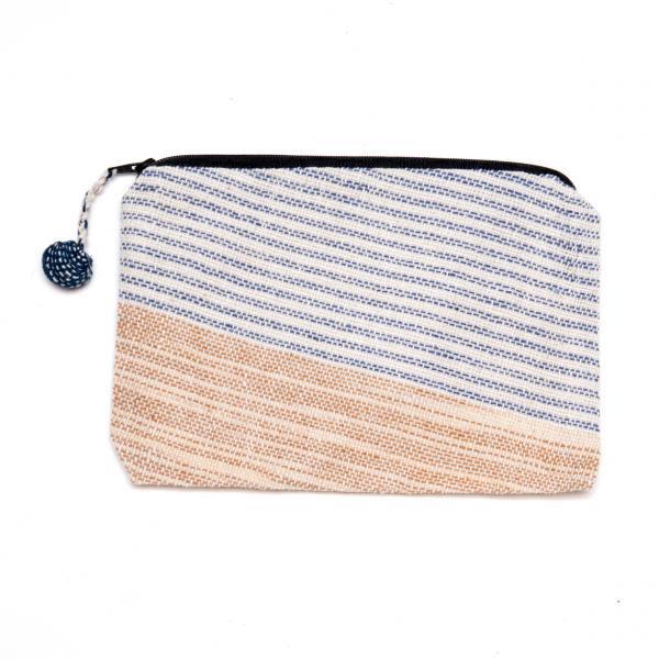 ラオス ルー族手織りの長方形ポーチ Type.5