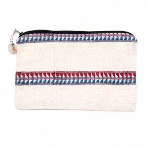 ルー族刺繍の化粧ポーチ