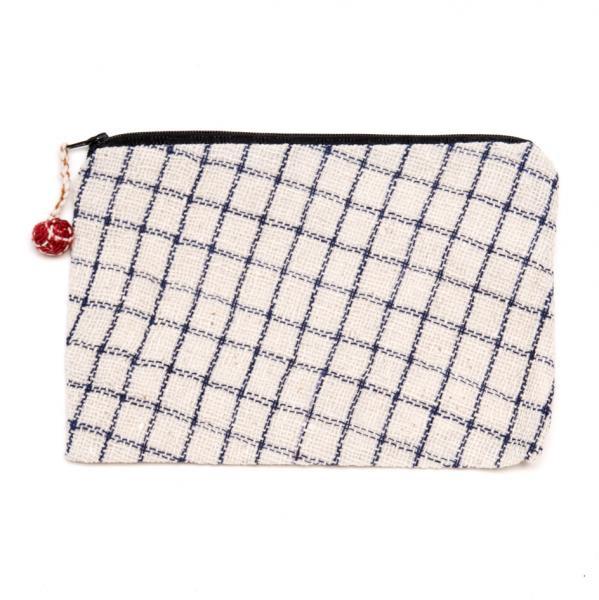 ラオス ルー族手織りの長方形ポーチ Type.7