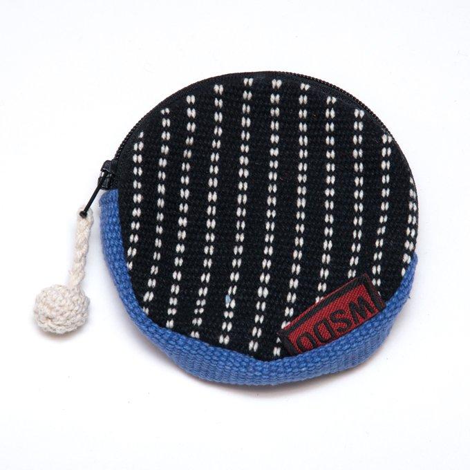<フェアトレード>WSDO 手織布のコインケース Type.1