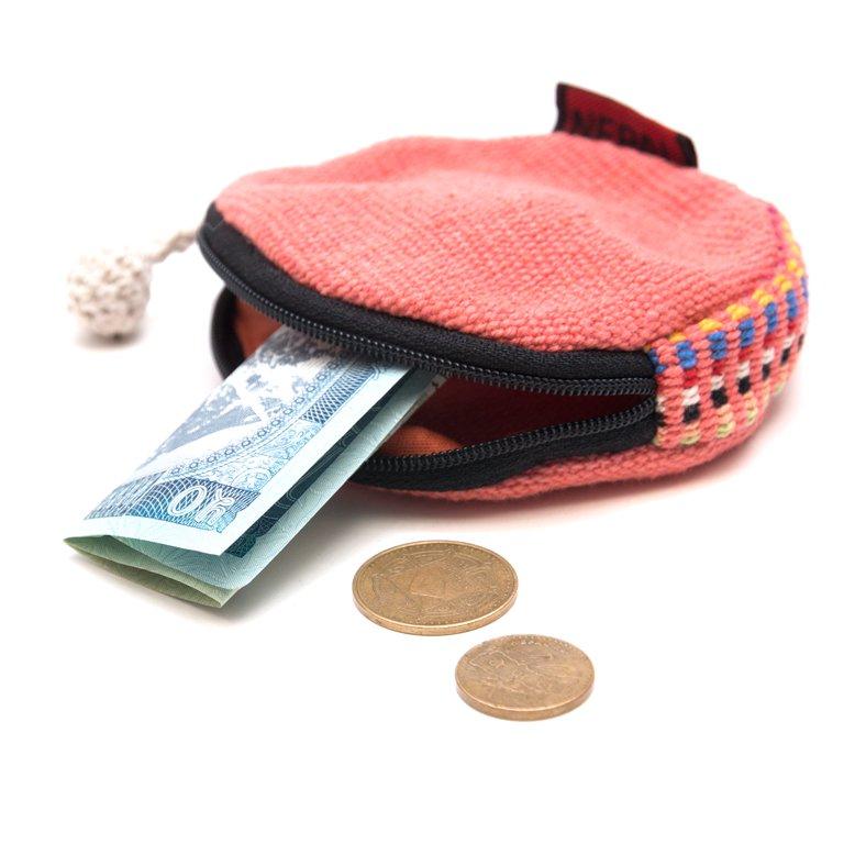 画像2:<フェアトレード>WSDO 手織布のコインケース(シンプル)