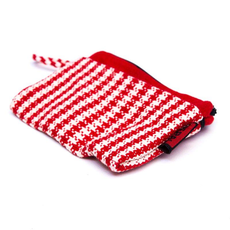 <フェアトレード>WSDO 手織布の3ポケットカードケース Type.1