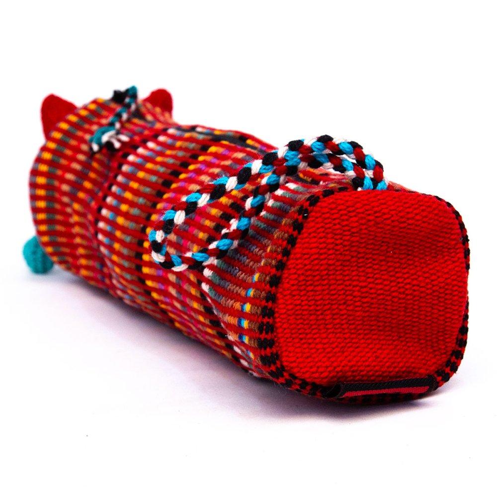 画像3:<フェアトレード>WSDO 手織布のアニマルペンケース(猫)