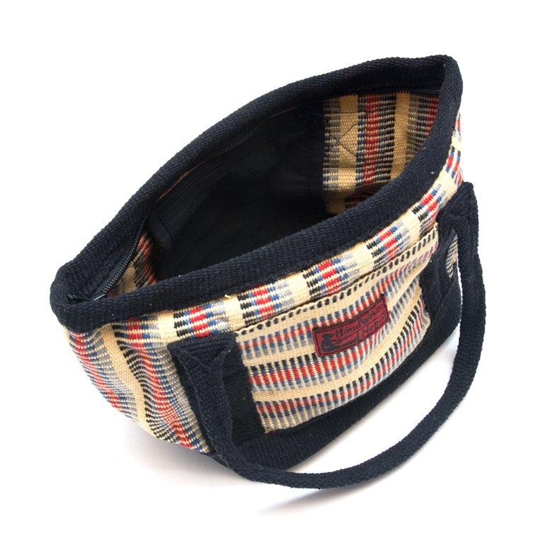 画像3:<フェアトレード>WSDO 手織布のランチバッグ(クリーム)
