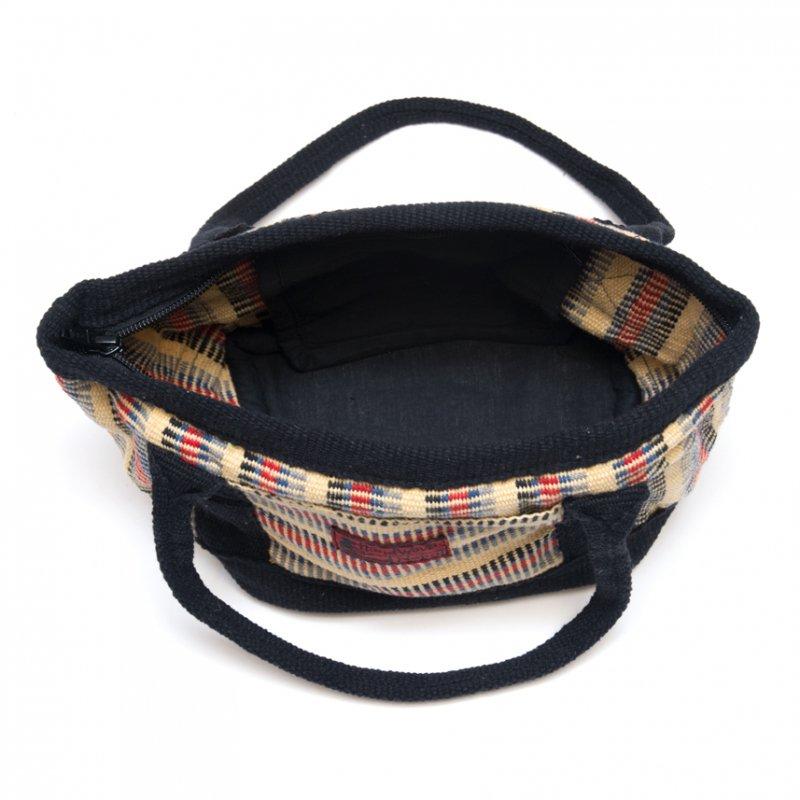 画像4:<フェアトレード>WSDO 手織布のランチバッグ(クリーム)