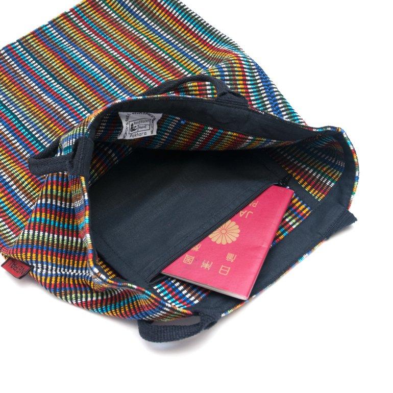 画像3:<フェアトレード>WSDO 手織布のカラフルトートバッグ