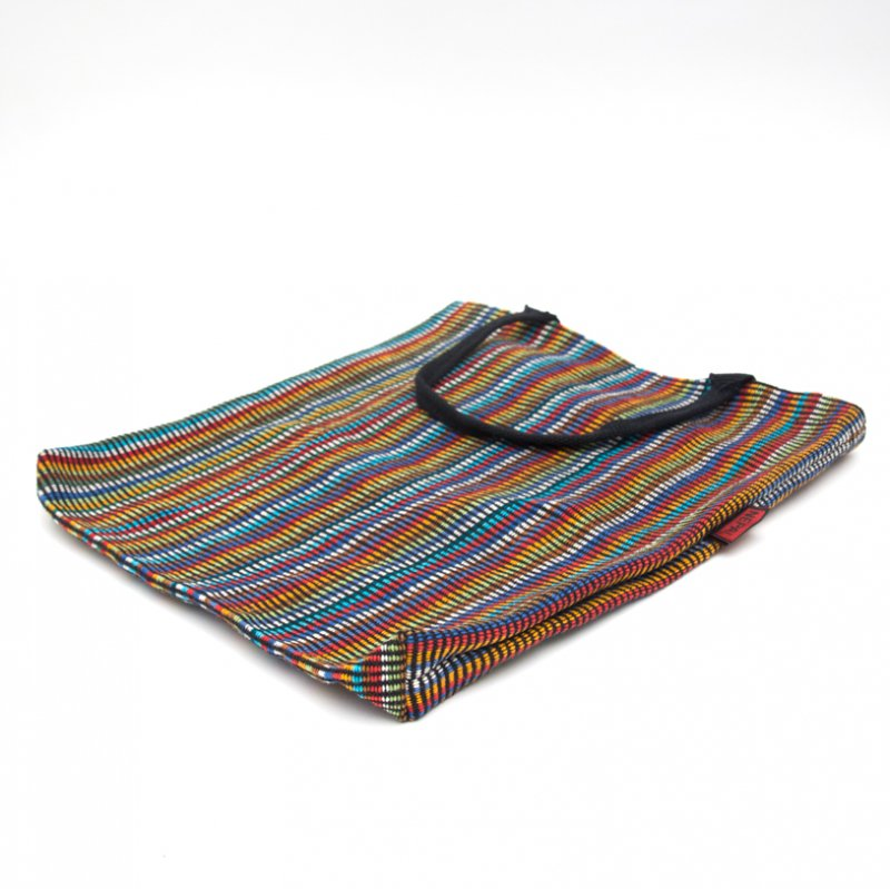 画像4:<フェアトレード>WSDO 手織布のカラフルトートバッグ