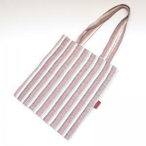 <フェアトレード>WSDO 手織布の自然派エコトートバッグ