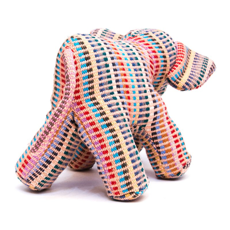 画像2:<フェアトレード>WSDO ゾウさんの手縫いぬいぐるみ