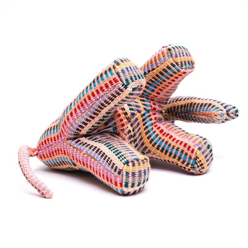 画像3:<フェアトレード>WSDO ゾウさんの手縫いぬいぐるみ