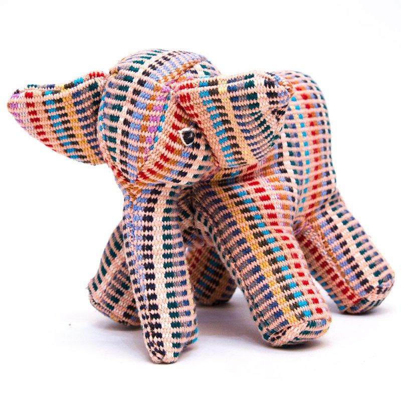 画像4:<フェアトレード>WSDO ゾウさんの手縫いぬいぐるみ