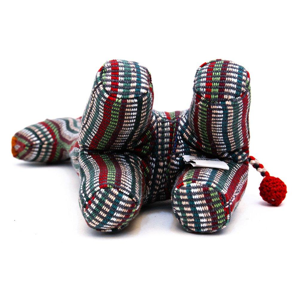 画像2:<フェアトレード>WSDO キリンさんの手縫いぬいぐるみ Type.1