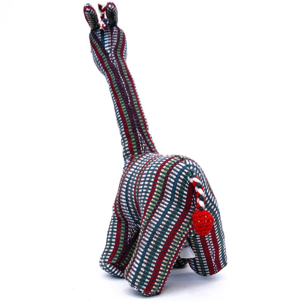 画像3:<フェアトレード>WSDO キリンさんの手縫いぬいぐるみ Type.1