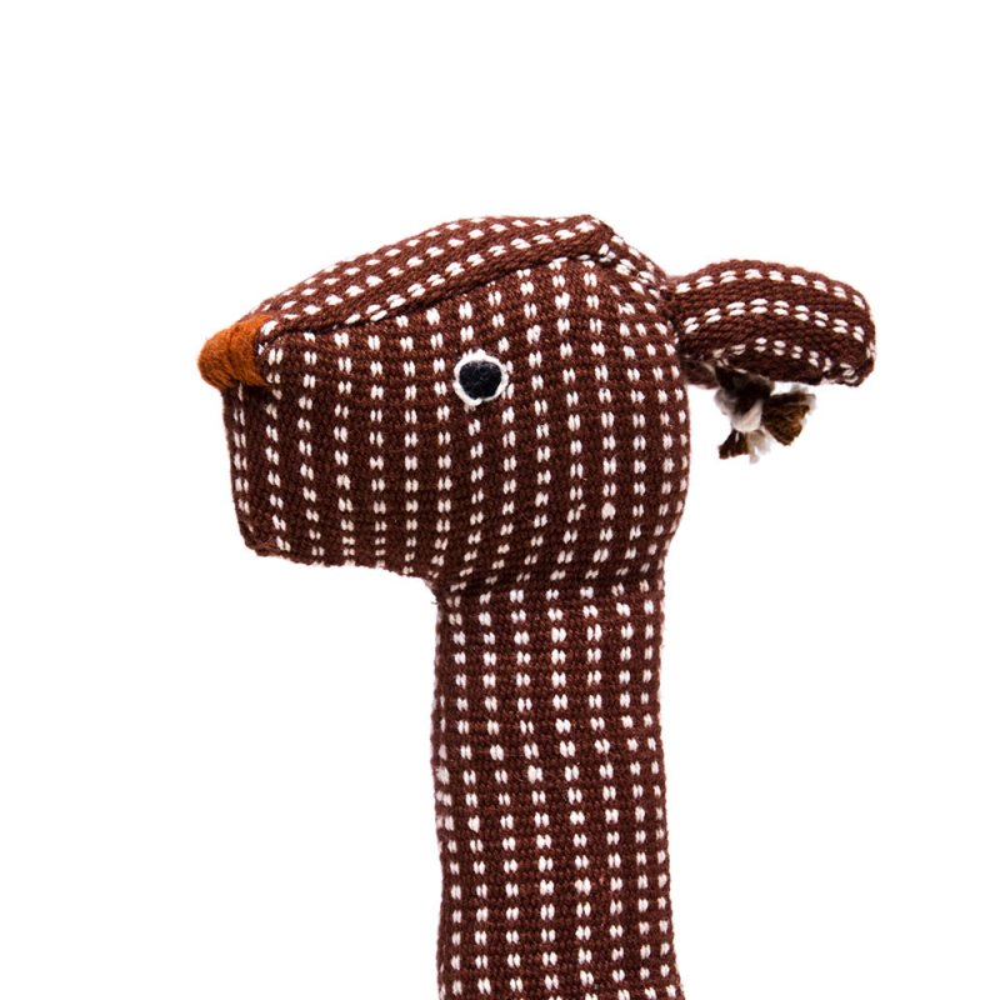 画像4:<フェアトレード>WSDO キリンさんの手縫いぬいぐるみ Type.1