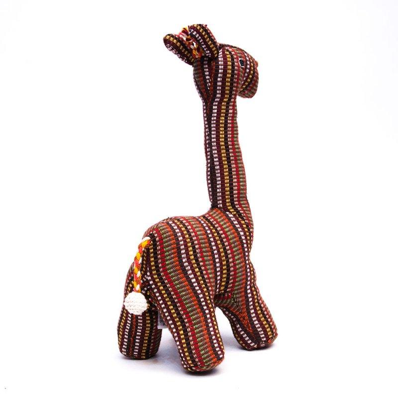 <フェアトレード>WSDO キリンさんの手縫いぬいぐるみ Type.2