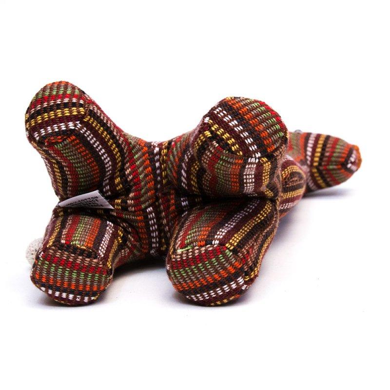 画像3:<フェアトレード>WSDO キリンさんの手縫いぬいぐるみ Type.2