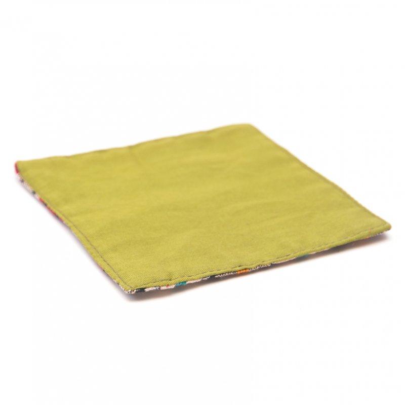画像3:ネパール伝統のダッカ織りコースター Type.3