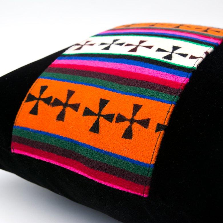画像3:DYH チベット伝統 バティックのクッションカバー
