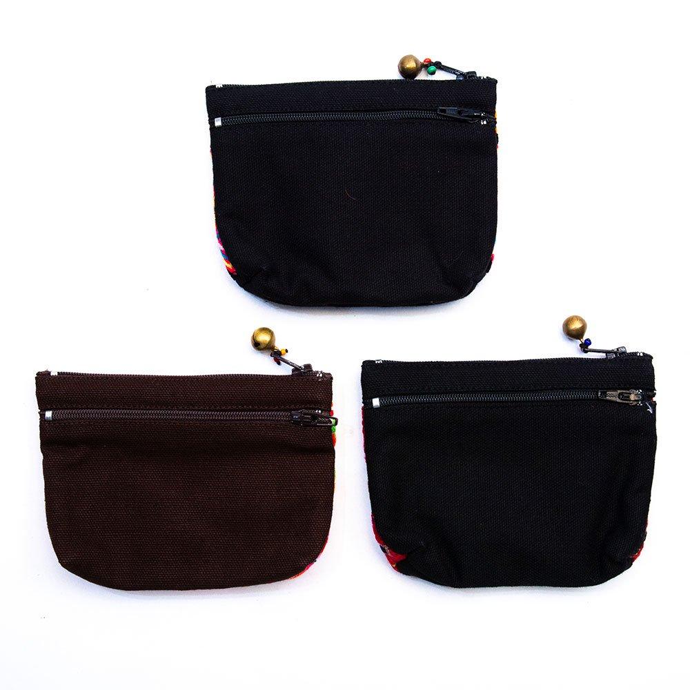 ThongPua モン族ヴィンテージ刺繍のネックポーチ Type.15