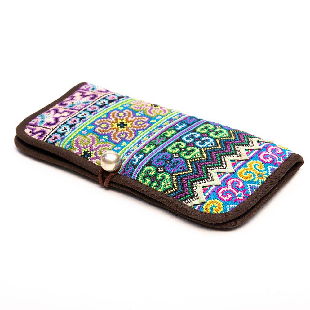 画像2:ThongPua モン族刺繍古布の長財布 Type.4(一点もの)