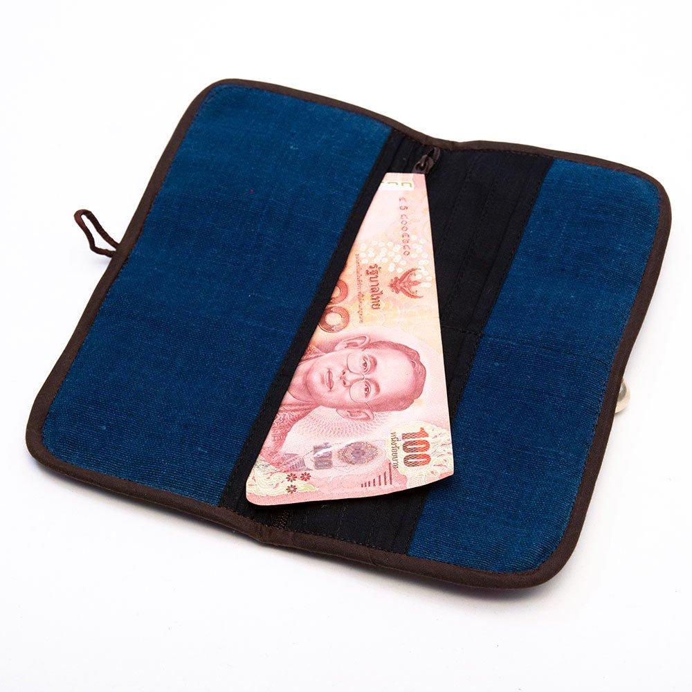 画像3:ThongPua モン族刺繍古布の長財布 Type.4(一点もの)