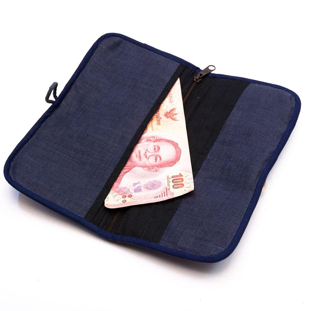 画像3:ThongPua モン族刺繍古布の長財布 Type.5(一点もの)