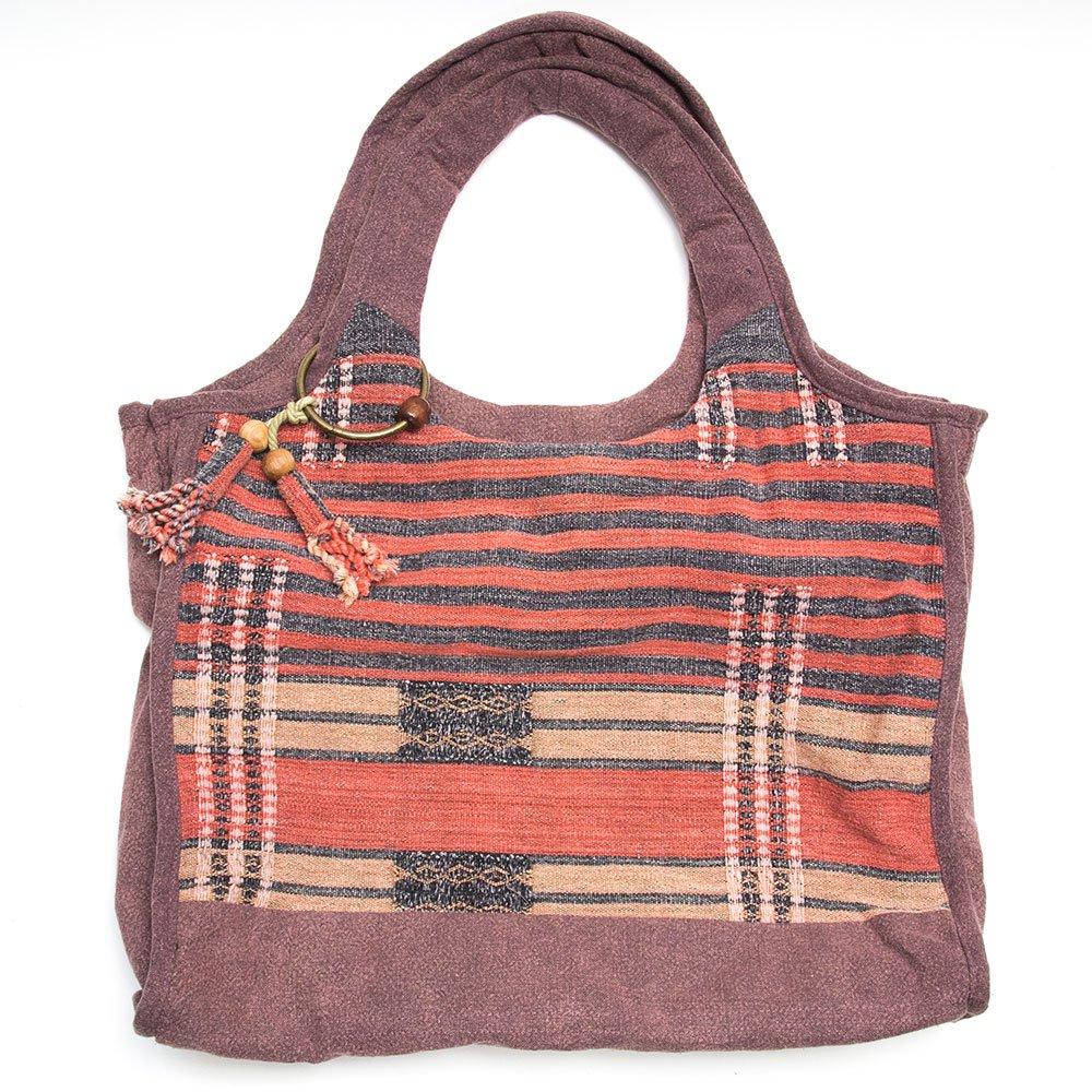 THANGEN ナガ族刺繍のマザーズバッグ Type.3