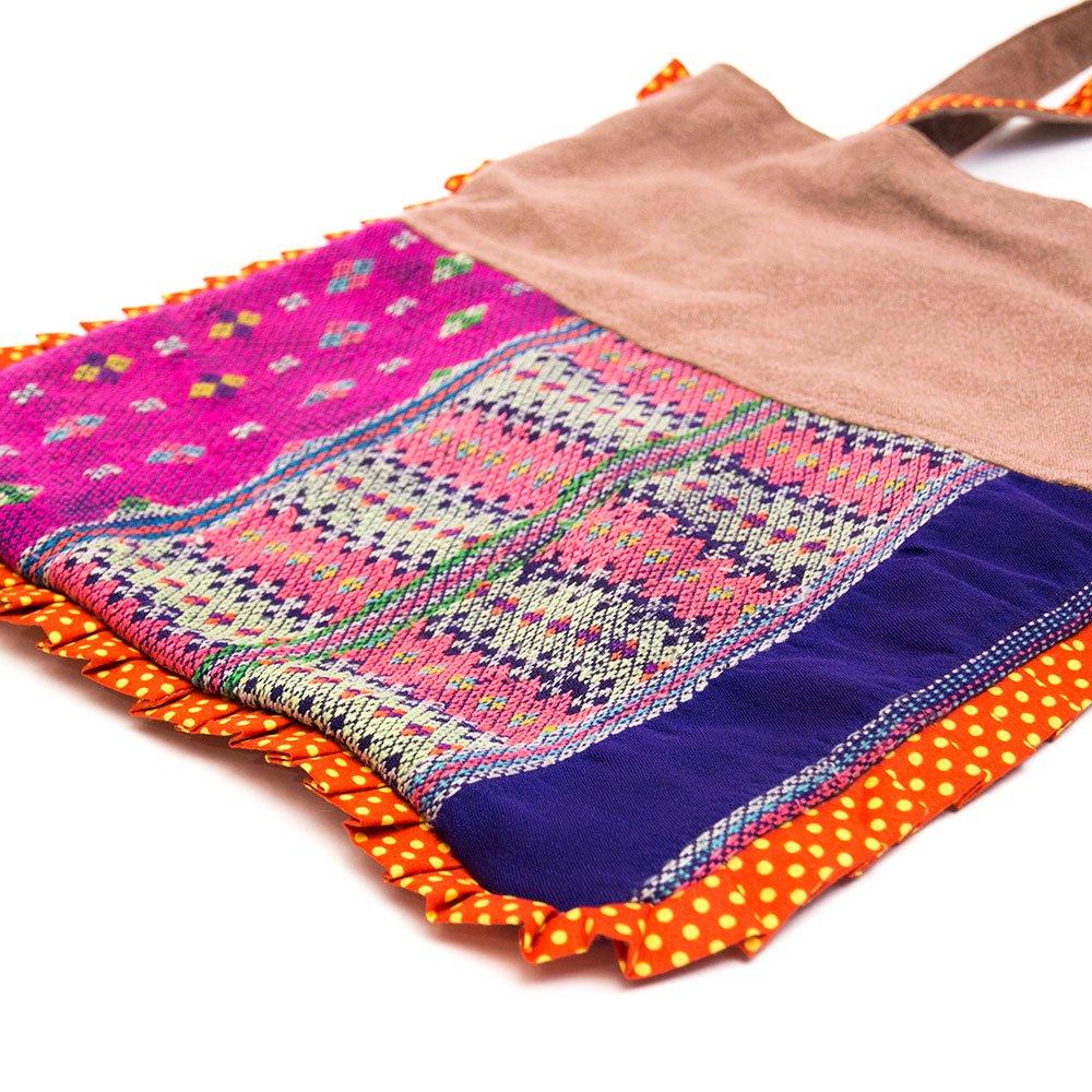 画像2:THANGEN カレン族刺繍のトートバッグ Type.2