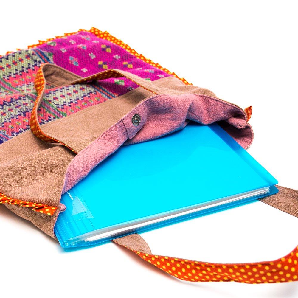 画像3:THANGEN カレン族刺繍のトートバッグ Type.2