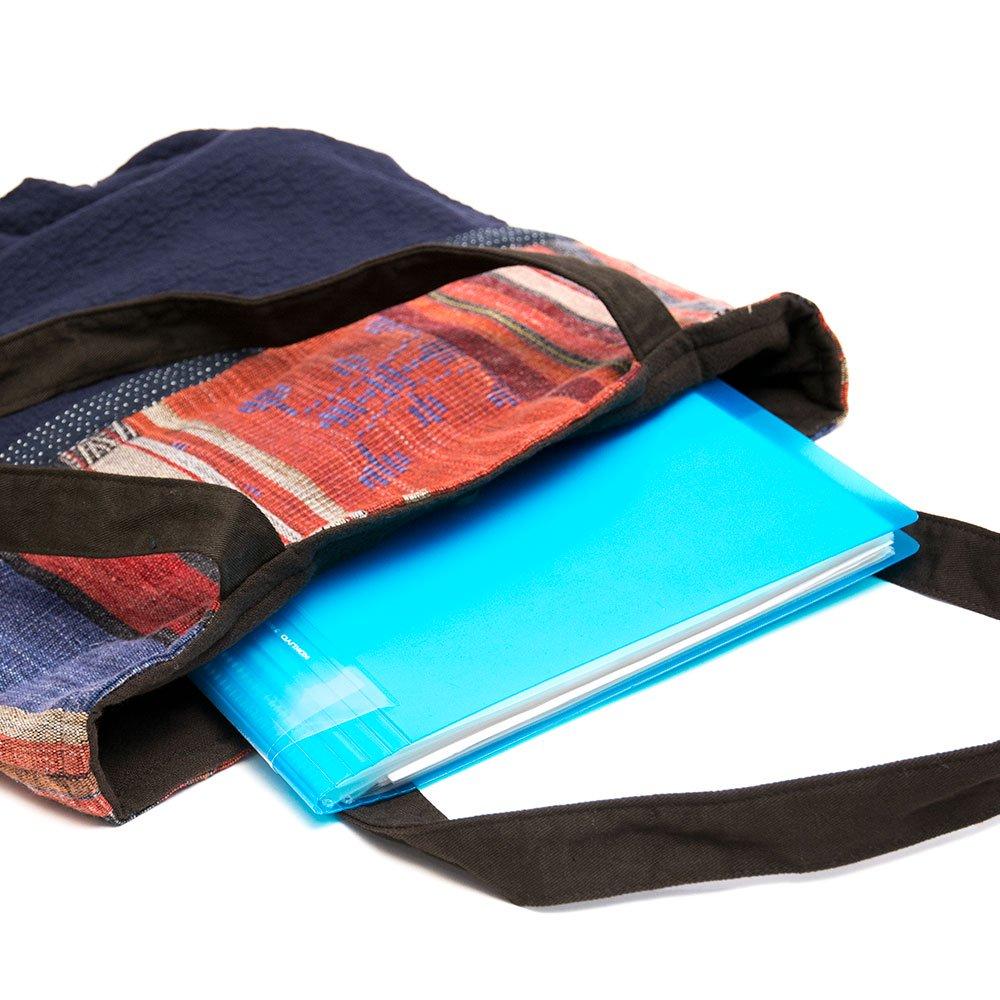 画像3:THANGEN ナガ族刺繍のトートバッグ Type.1