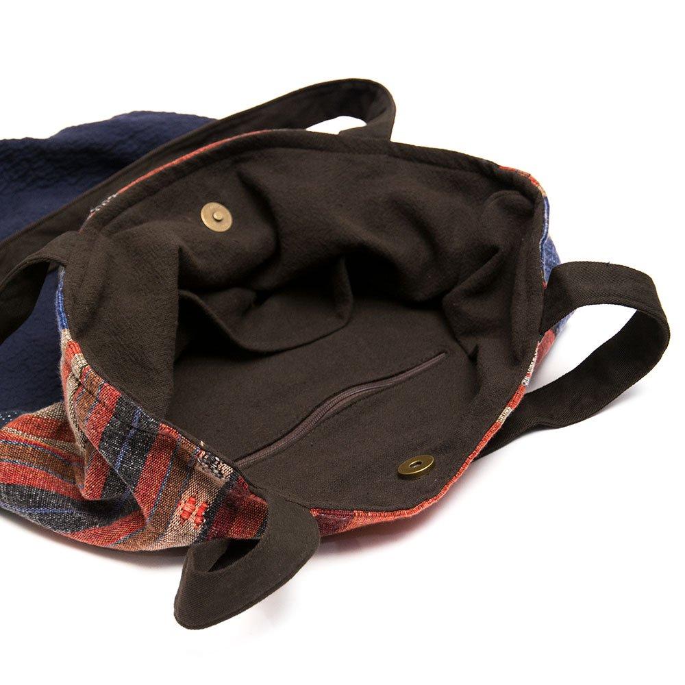 画像4:THANGEN ナガ族刺繍のトートバッグ Type.1