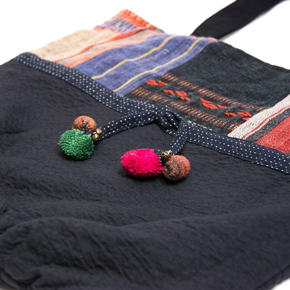 画像2:THANGEN ナガ族刺繍のトートバッグ Type.3