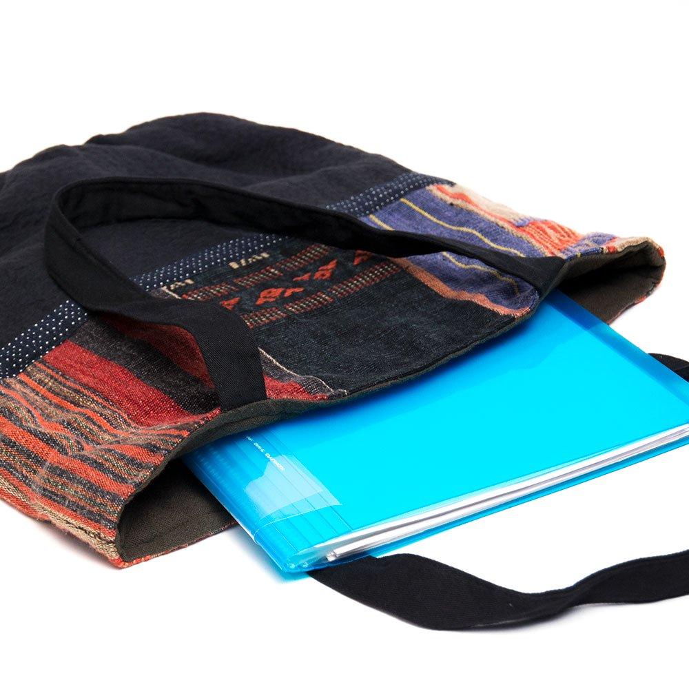 画像3:THANGEN ナガ族刺繍のトートバッグ Type.3