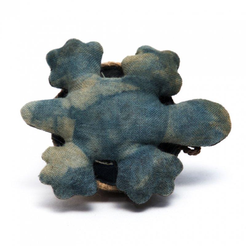 画像2:藍染め 手縫いのかわいいカメさん Type.6(8種)