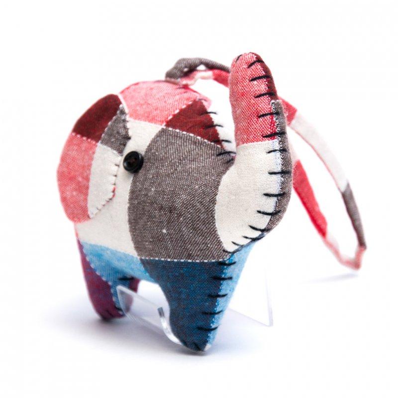 画像3:手縫いゾウさんのかわいいドアチャーム Type.3