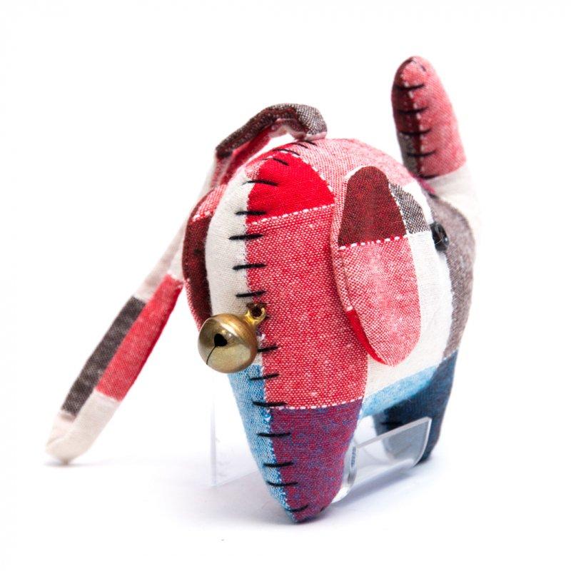 画像4:手縫いゾウさんのかわいいドアチャーム Type.3